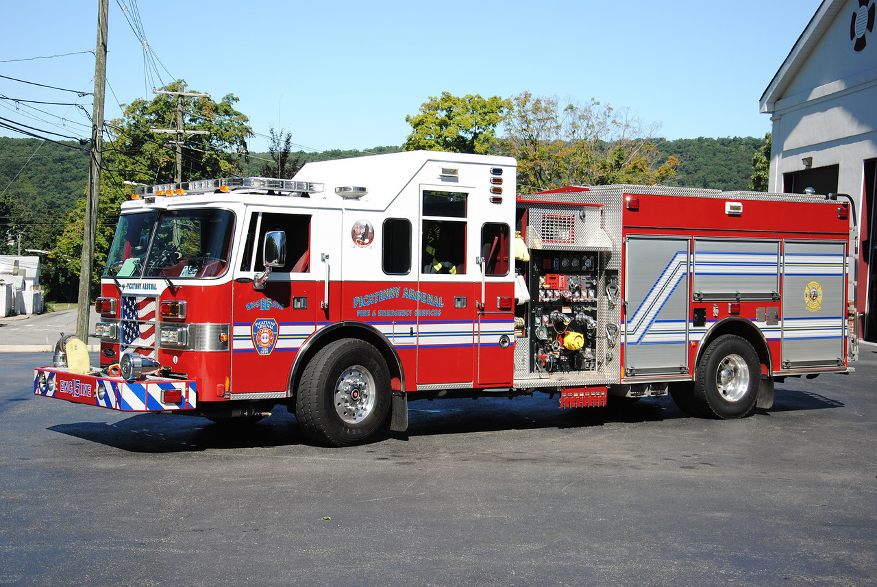 Picatinny Arsenal Fire Department Engine 15