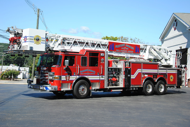 Picatinny Arsenal Fire Department Ladder 17