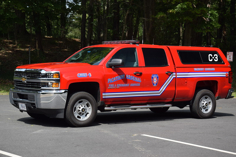 Picatinny Arsenal Fire Department Chief 3