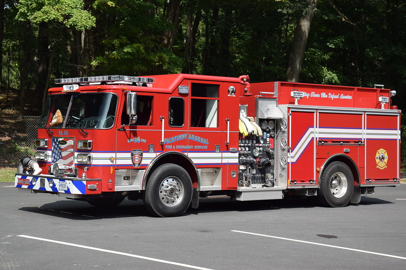 Picatinny Arsenal Fire Department Engine 14