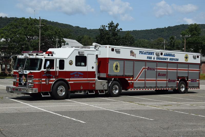 Picatinny Arsenal Fire Department Haz-Mat 23
