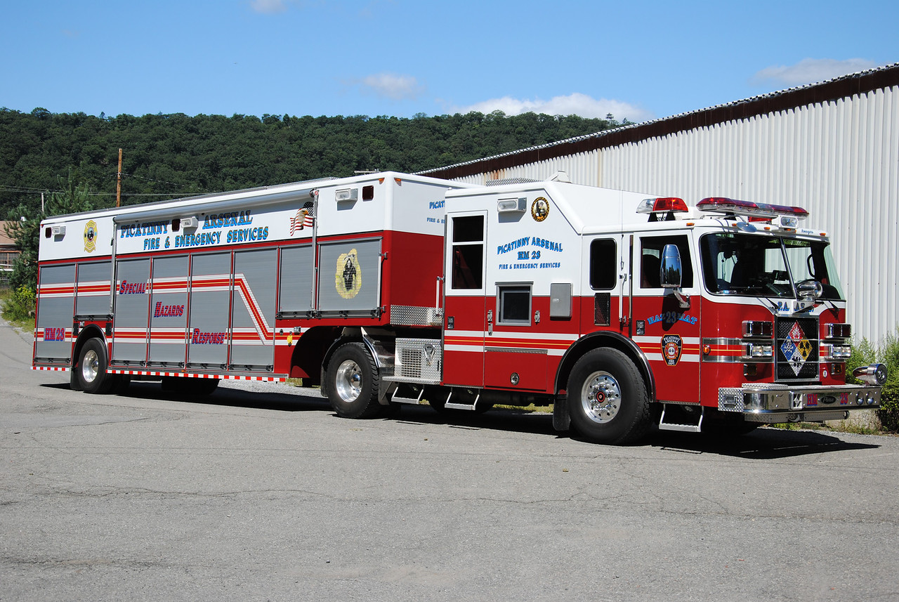 Picatinny Arsenal Fire Department Haz-Mat 23