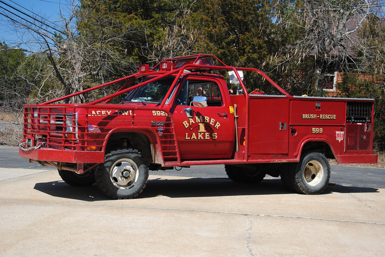 Bamber Lakes Fire Company, Lacey Twp Brush 5929
