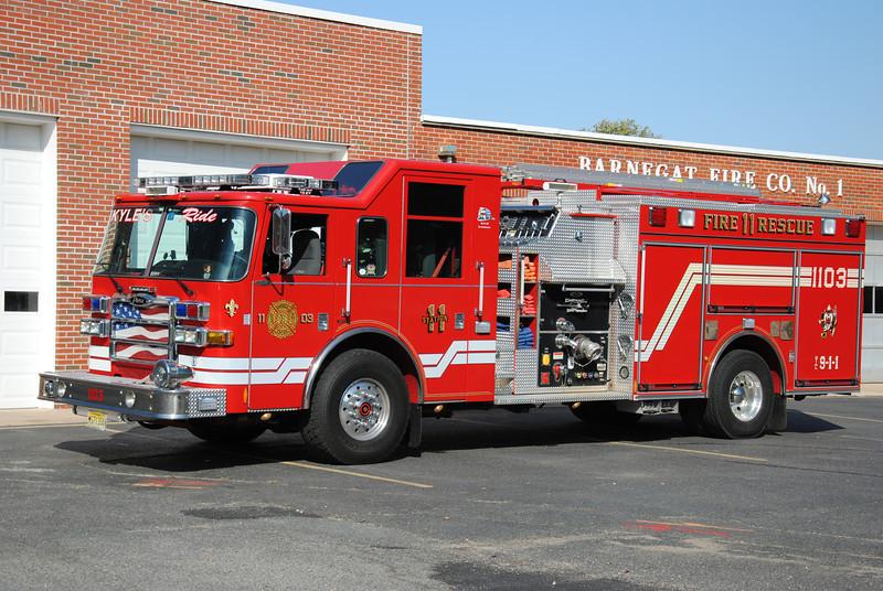 Barnegat Fire Company Rescue-Engine 1103