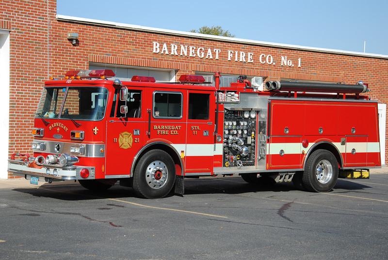 Barnegat Fire Company Engine 1121