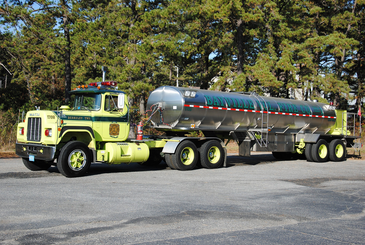 Ex-Bayville Fire Company Tanker 1708