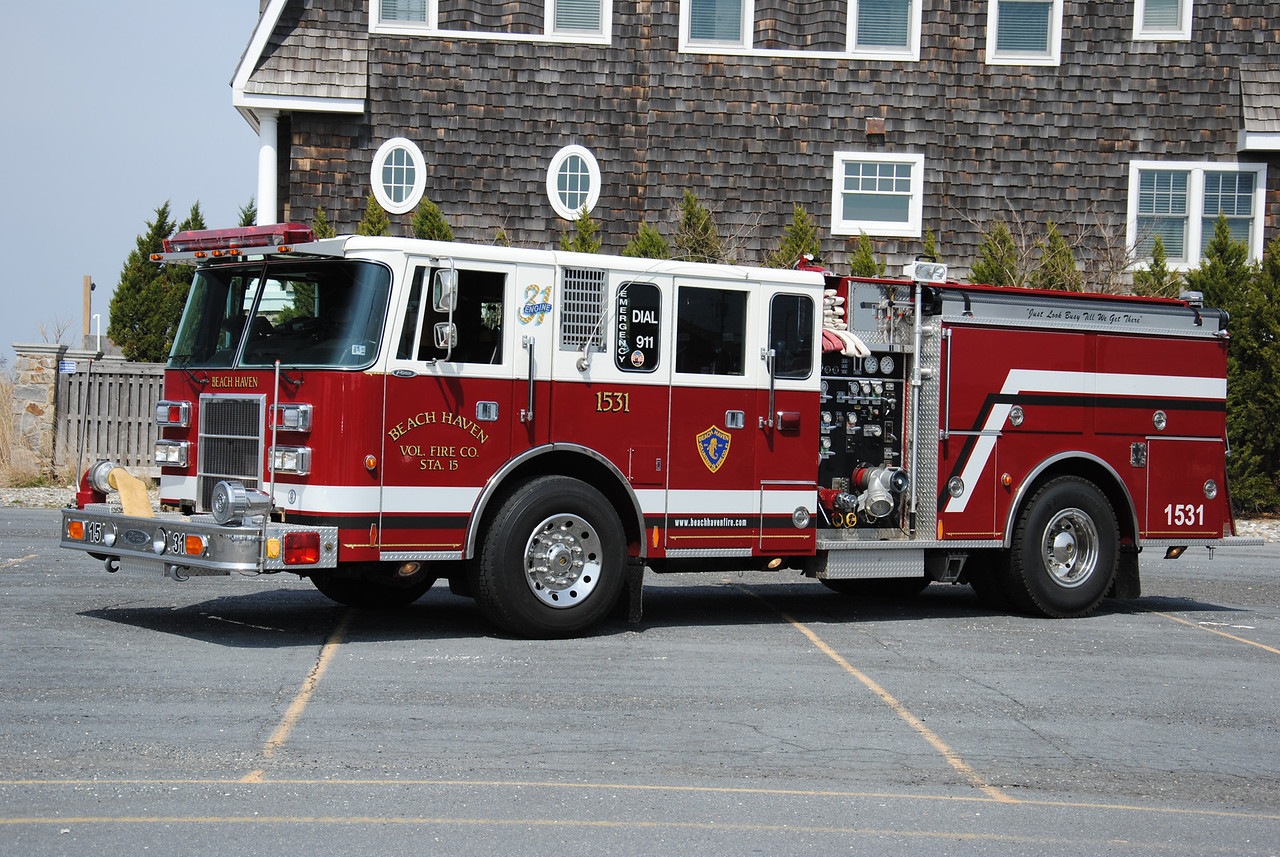 Ex-Beach Haven Fire Company Engine 1531
