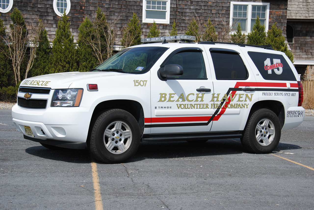 Beach Haven Fire Company Chief 1507