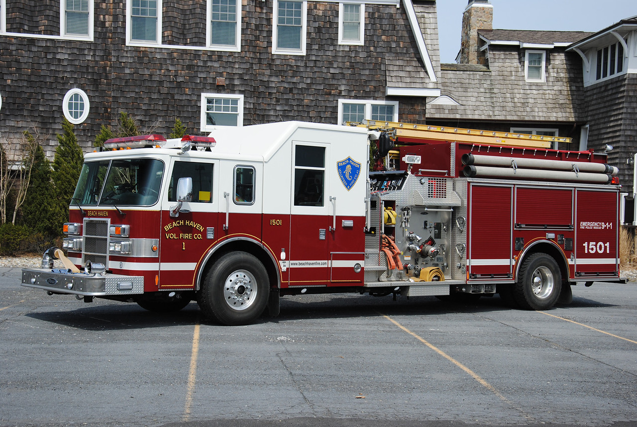 Beach Haven Fire Company Engine 1501