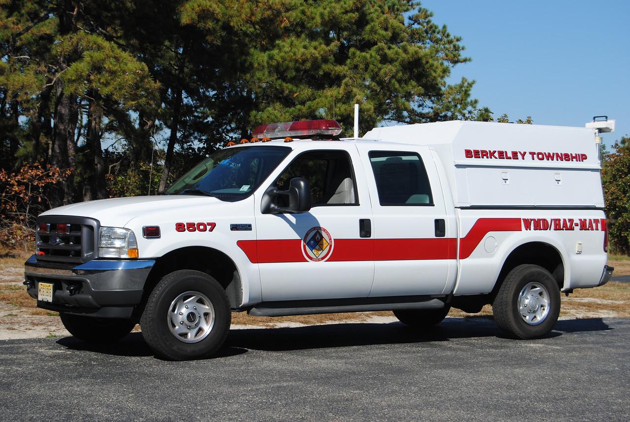 Berkeley Twp Emergency Response Team Haz-Mat 8507