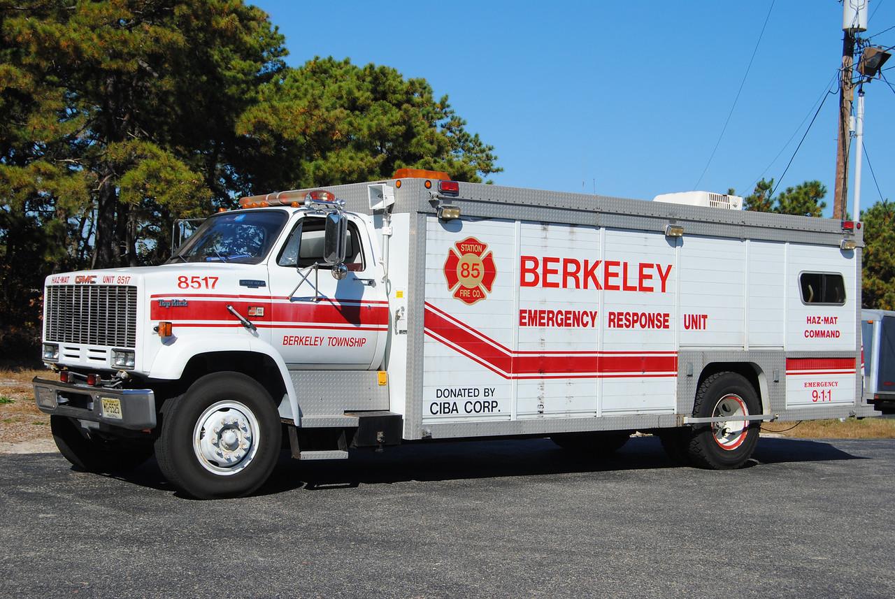 Berkeley Twp Emergency Response Team Haz-Mat 8517