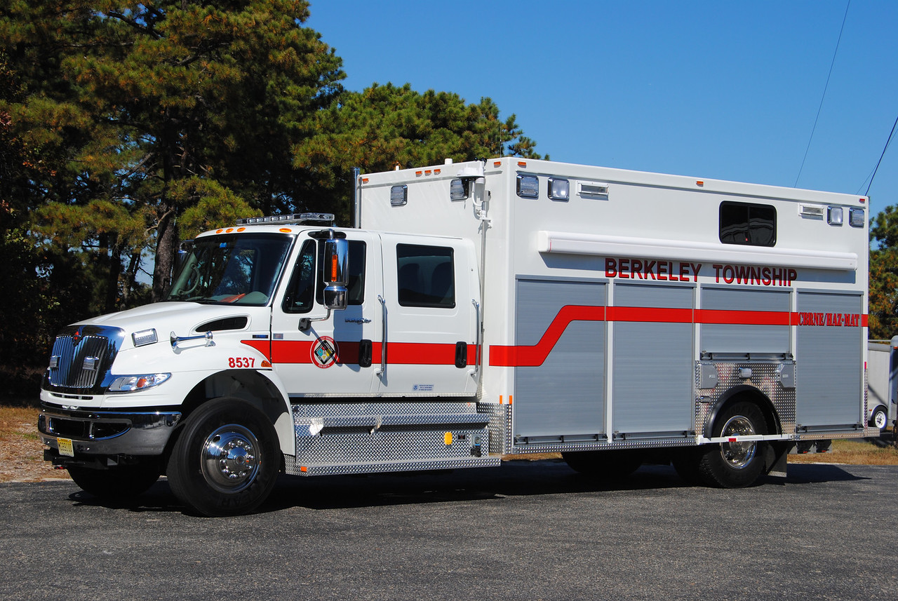 Berkeley Twp Emergency Response Team Haz-Mat 8537