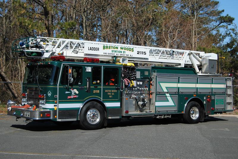 Breton Woods Fire Company Ladder 2115