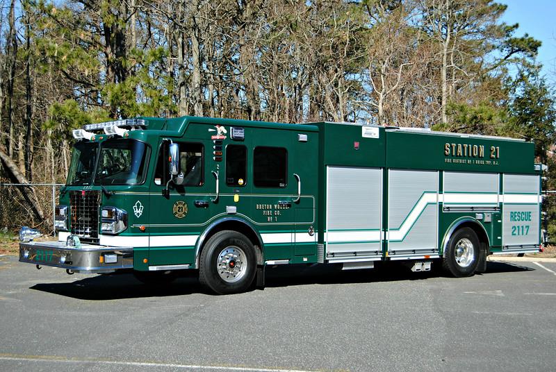 Breton Woods Fire Company Rescue-Engine 2117