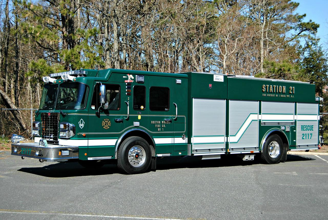 Breton Woods Fire Company, Brick Twp Rescue-Engine 2117