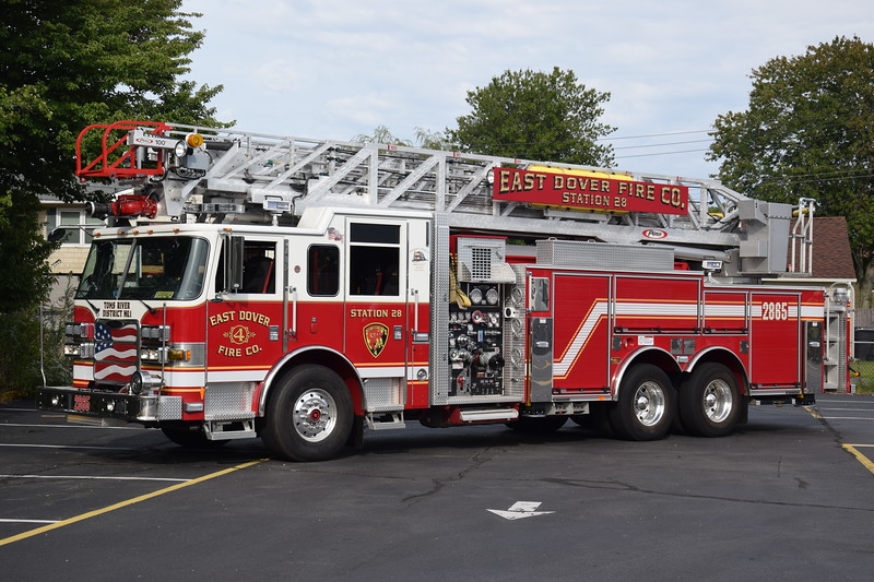 East Dover Fire Company Ladder 2865