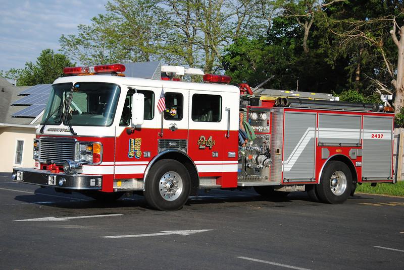 Herbertsville Fire Company Rescue-Engine 2437