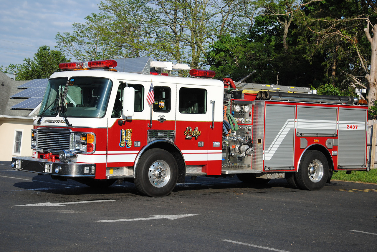Herbertsville Fire Company Rescue-Engine 2437