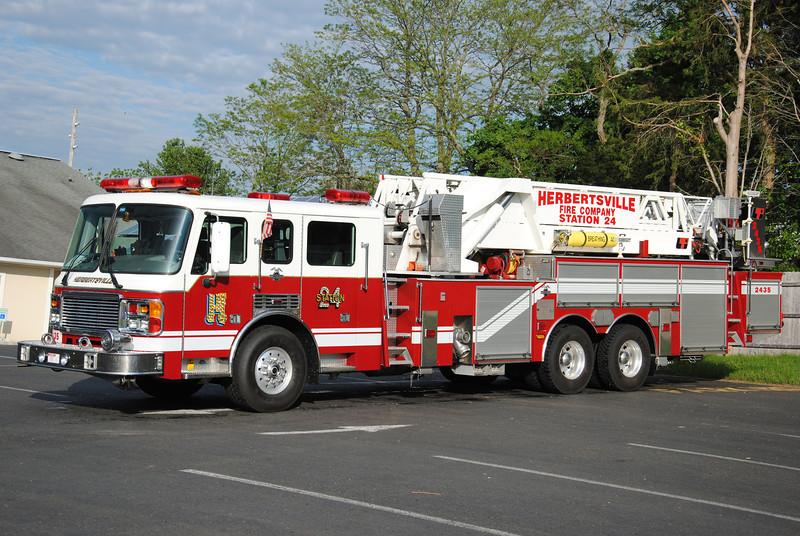 Herbertsville Fire Company Tower 2435