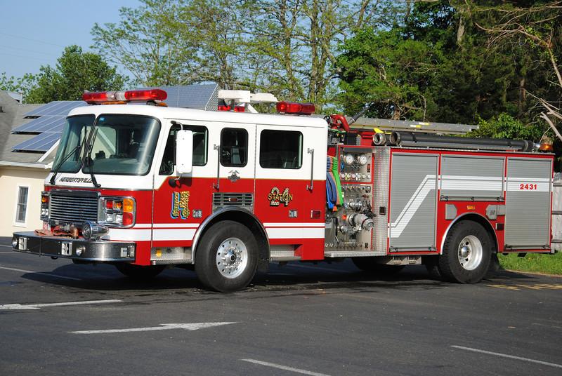 Herbertsville Fire Company Engine 2431