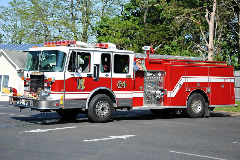 Herbertsville Fire Company Engine 2411