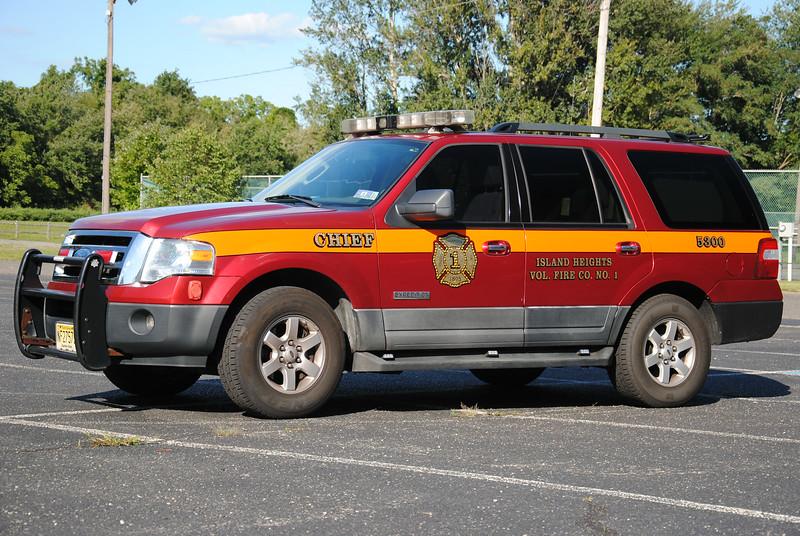 Island Heights Fire Company Chief 5300