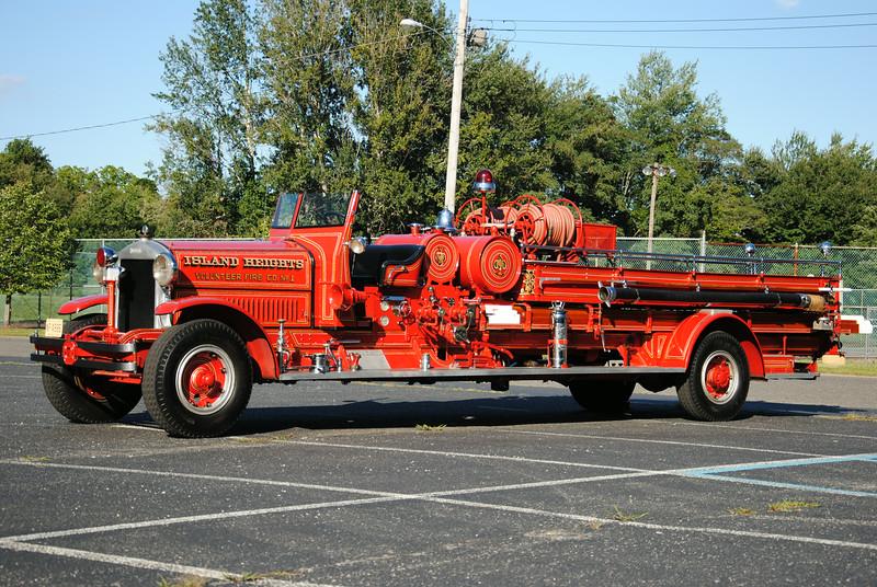 Island Heights Fire Company Antique Engine