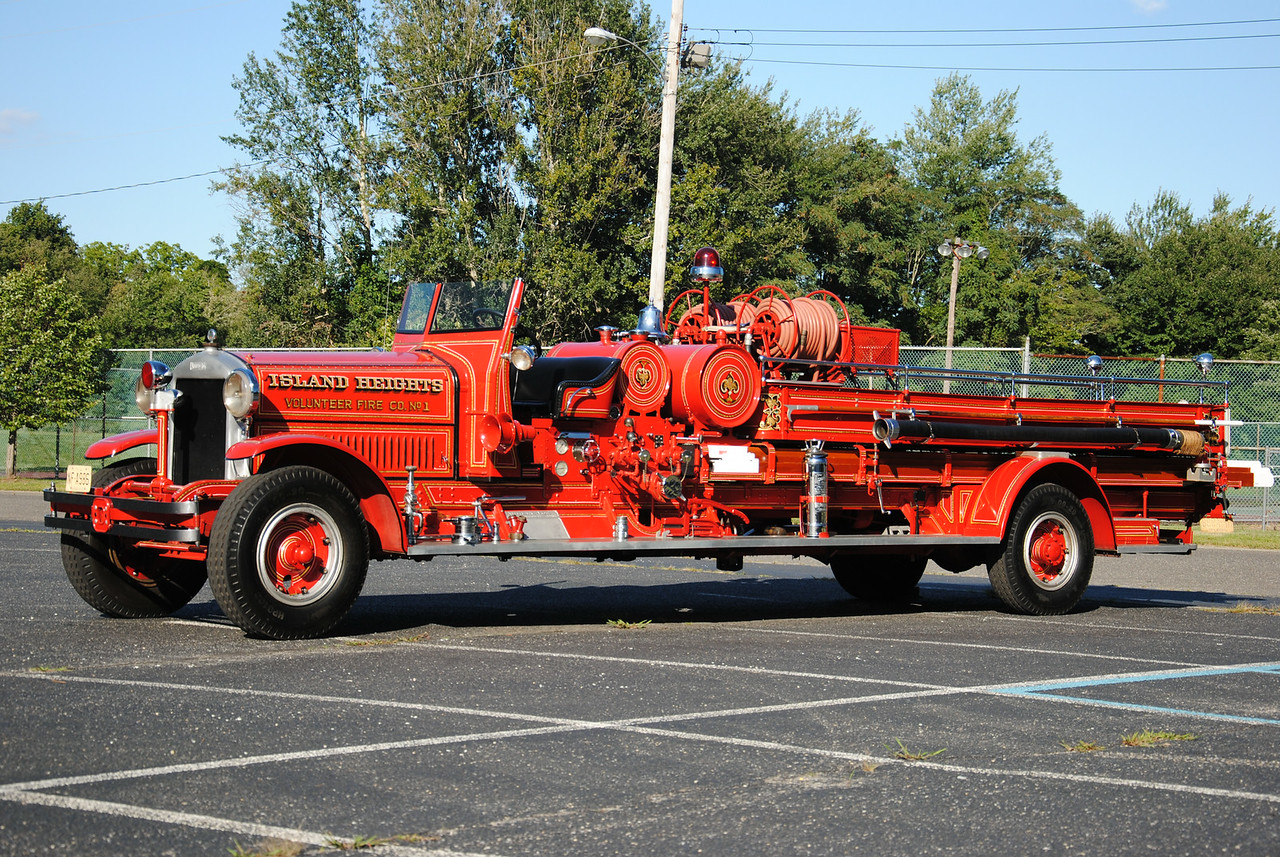 Island Heights Fire Company Antique Engine