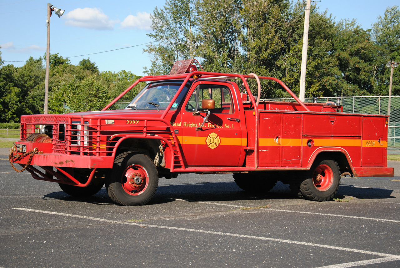 Ex-Island Heights Fire Company Brush 5309