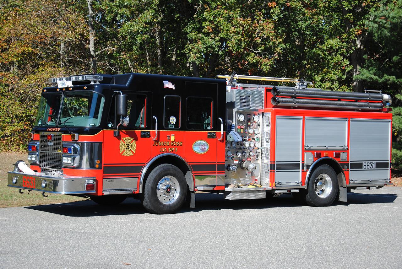 Junior Hose Company #3 Engine 6631