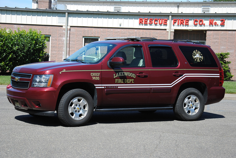 Lakewood Fire Department Chief 7420
