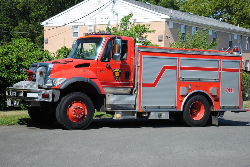 Lakewood Fire Department, Lakewood Ex-Engine 7411