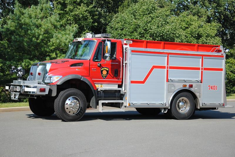 Lakewood Fire Department, Lakewood Ex-Engine 7401