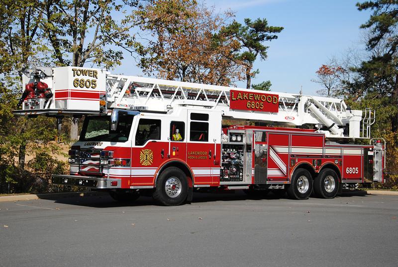 Lakewood Hook & Ladder Tower 6805