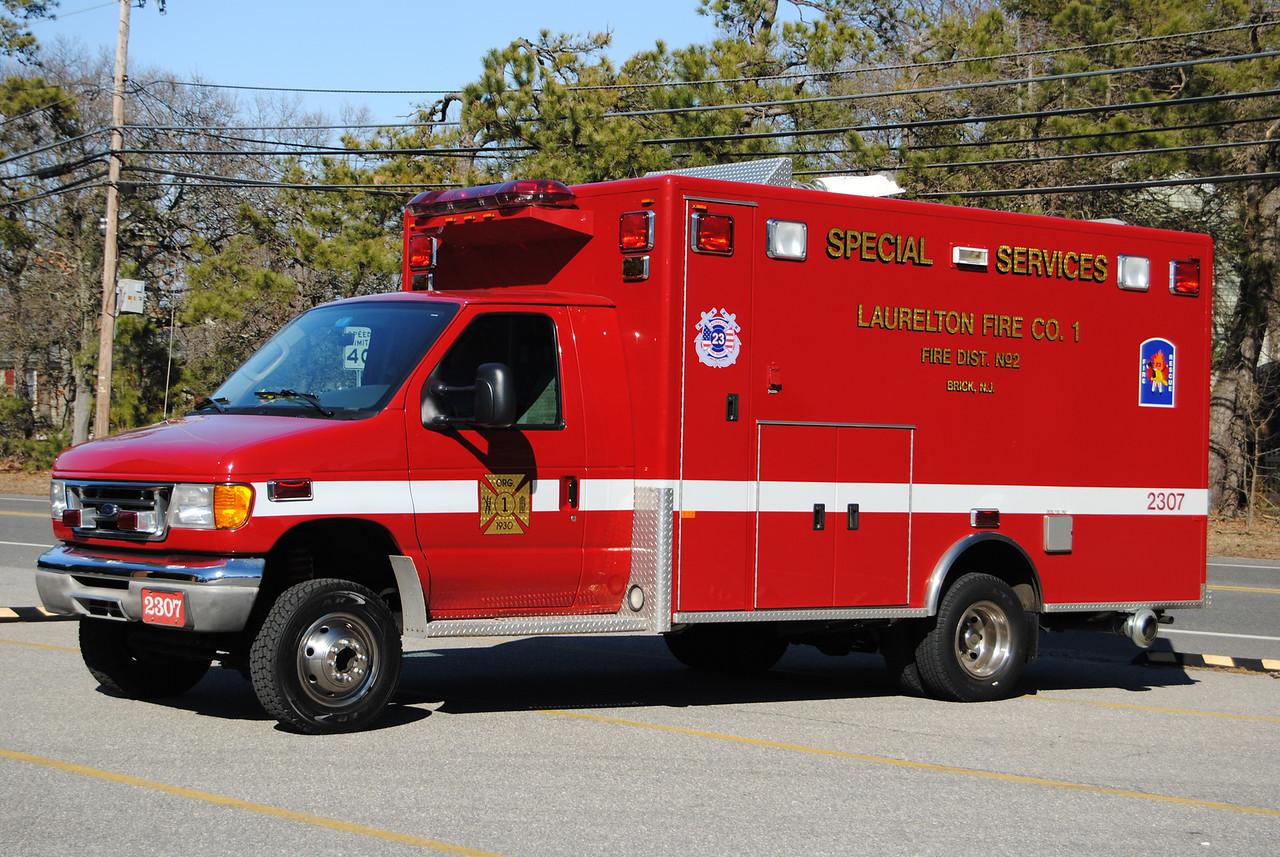 Laurelton Fire Company Utility 2307