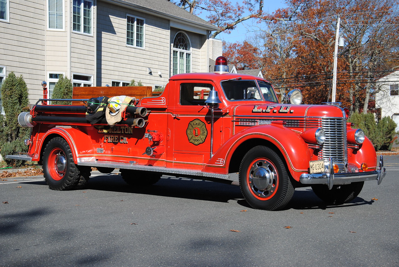Laurelton Fire Company Antique Engine