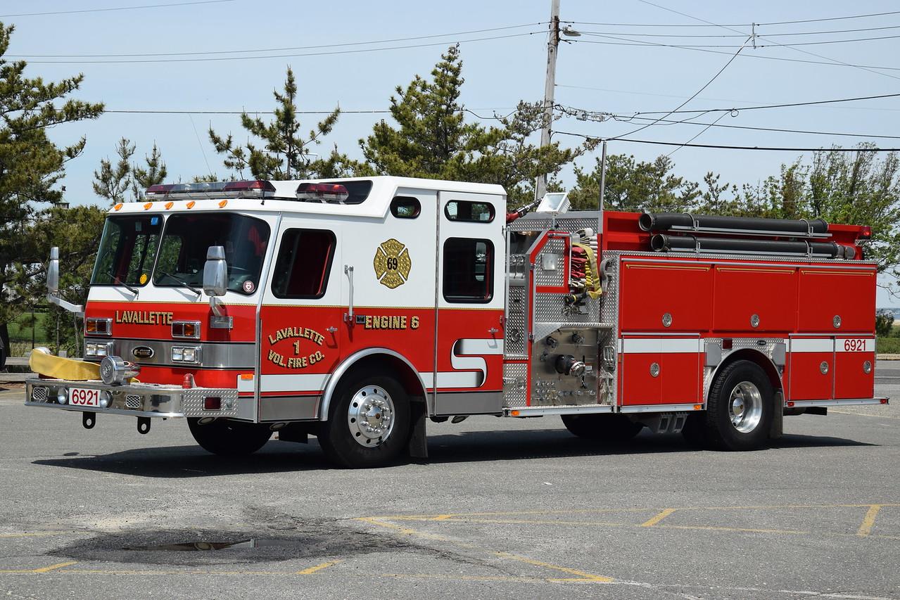 Lavallette Fire Company Engine 6921
