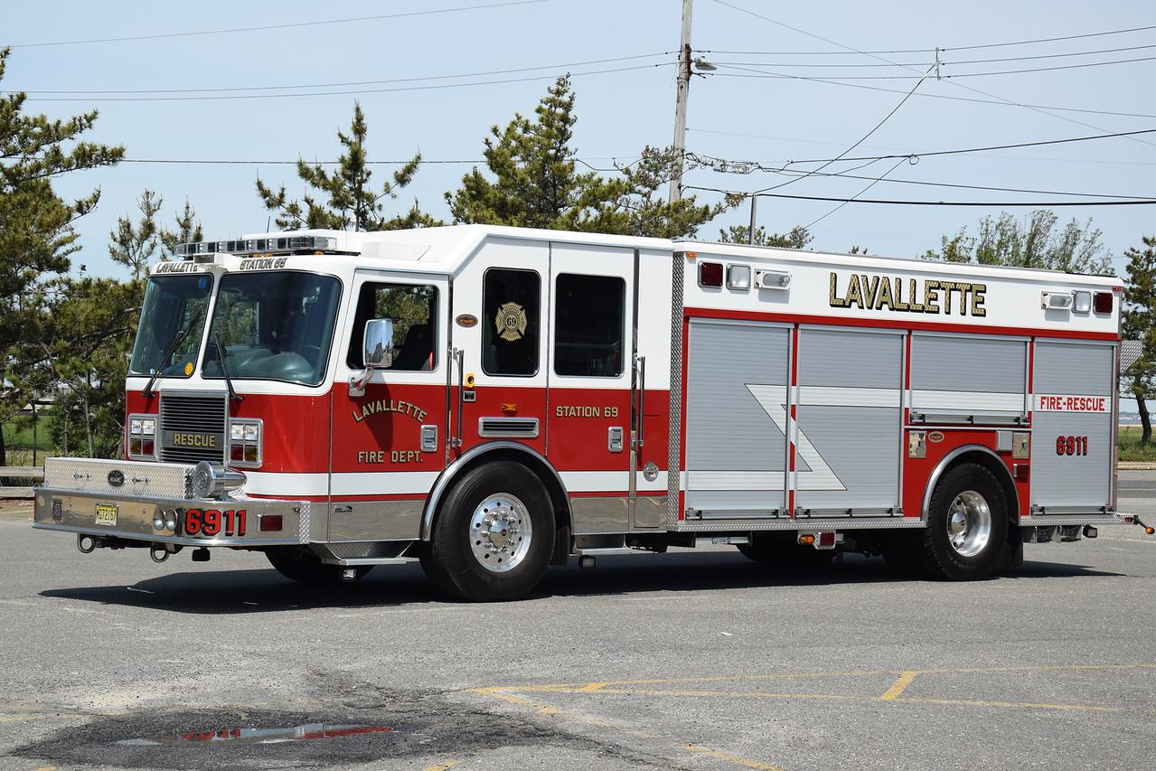 Lavallette Fire Company Rescue-Engine 6911