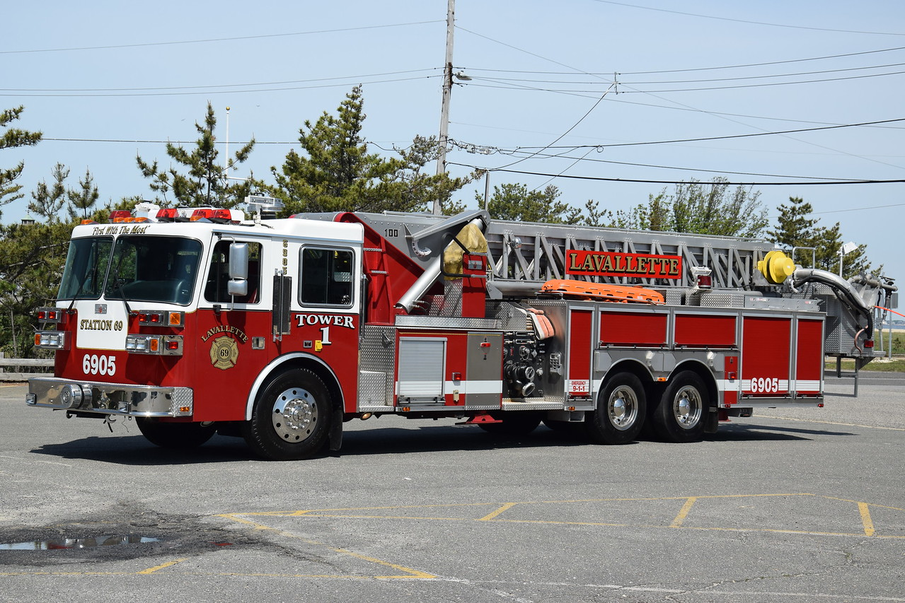 Lavallette Fire Company Tower 6905