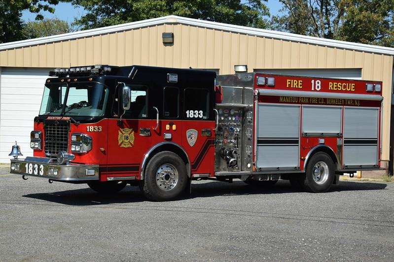 Manitou Park Fire Company Rescue Engine 1833