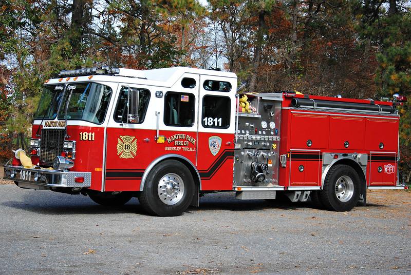 Manitou Park Fire Company Engine 1811