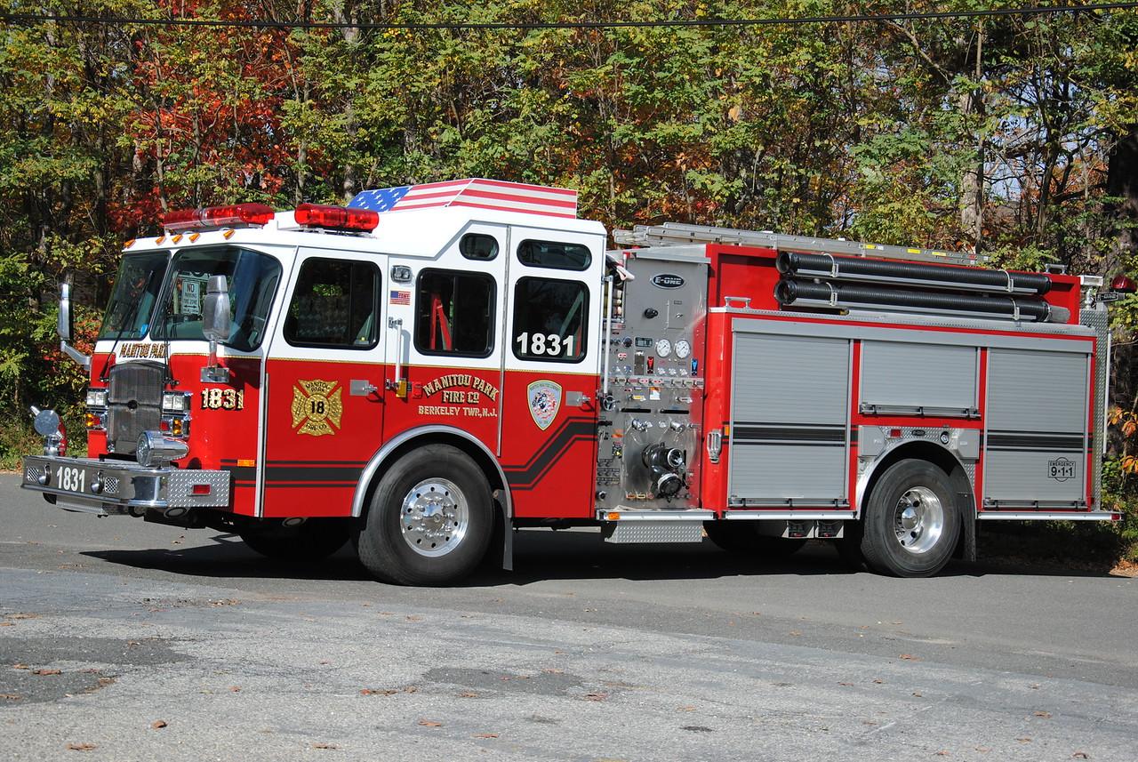 Manitou Park Fire Company, Berkeley Twp Engine 1831