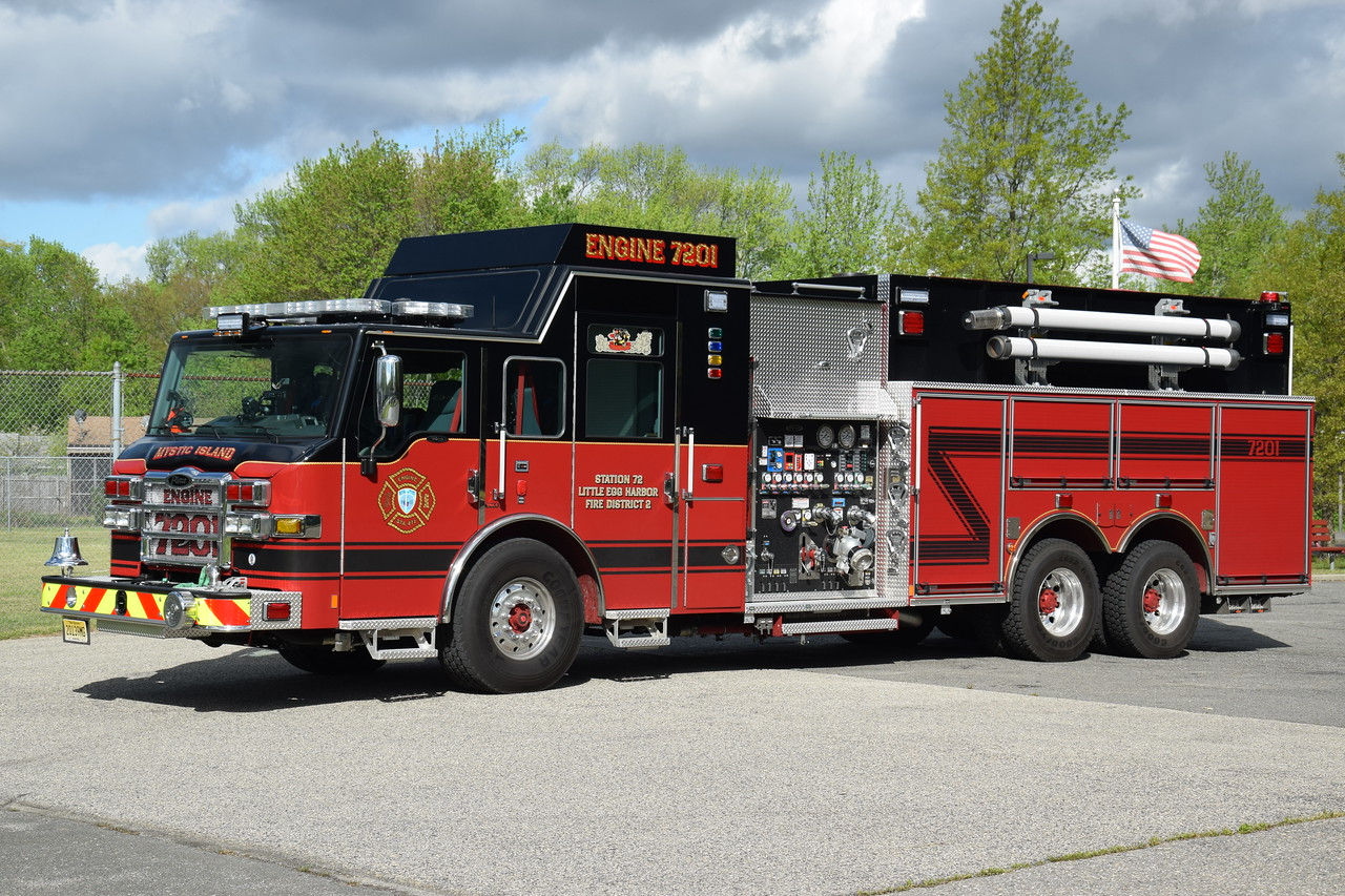 Mystic Island Fire Company Engine 7201