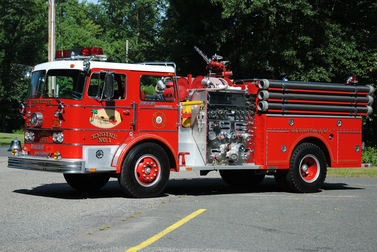 New Egypt Fire Department, New Egypt Antique Engine