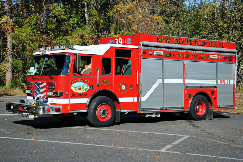 New Egypt Fire Company, Plumstead Rescue 3902