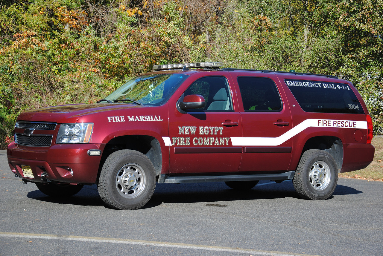 New Egypt Fire Company, Plumstead Fire Marshal 3904