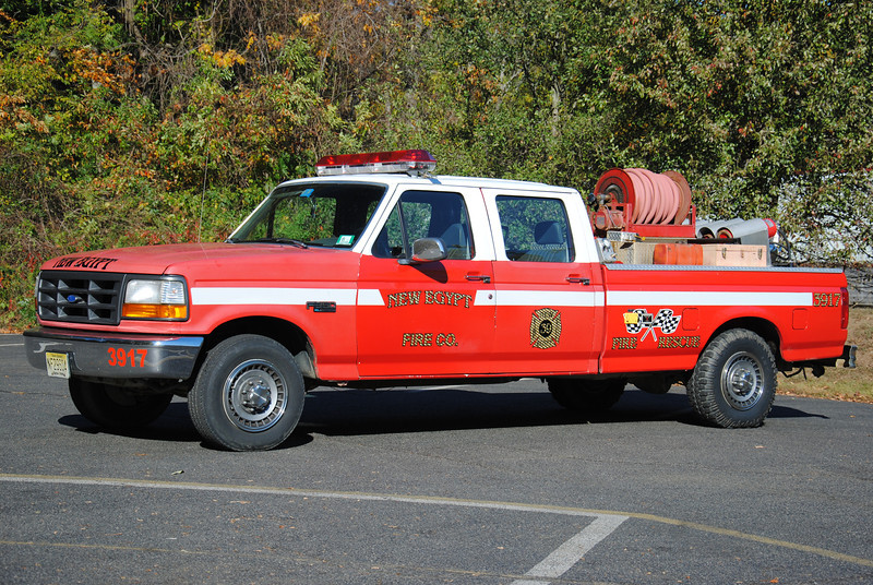 New Egypt Fire Company, Plumstead Utility 3917