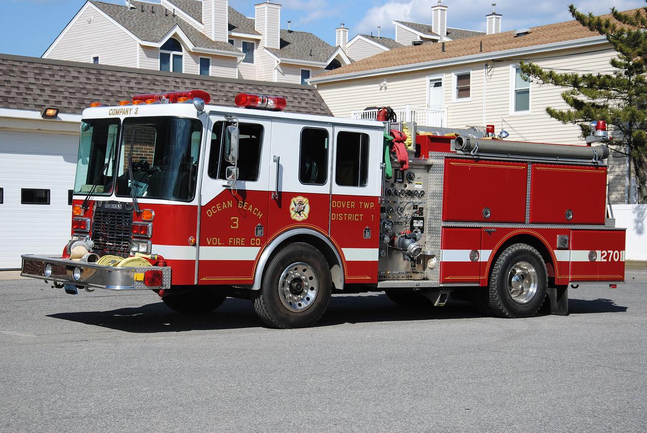 EX-Ocean Beach Fire Company #3 Engine 2701