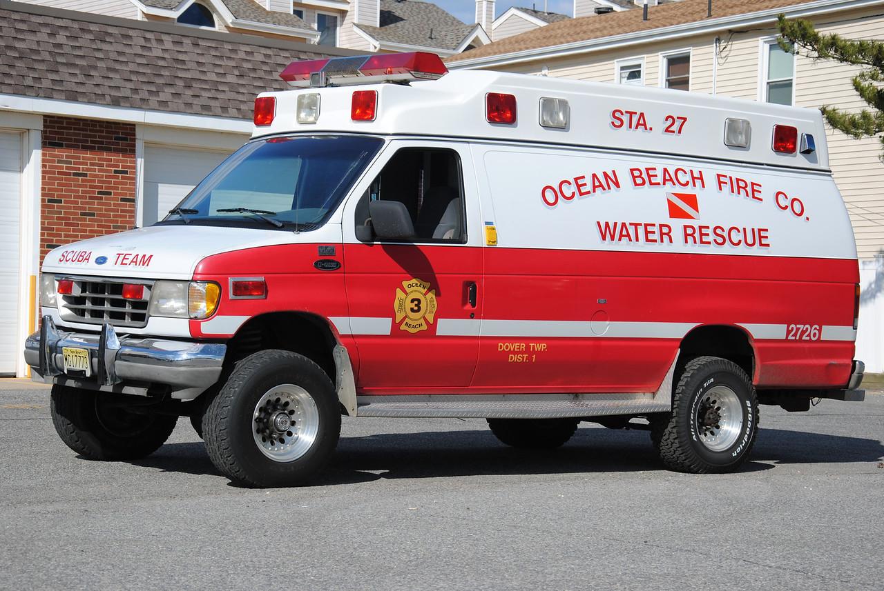 Ocean Beach Fire Company #3 Utility 2726