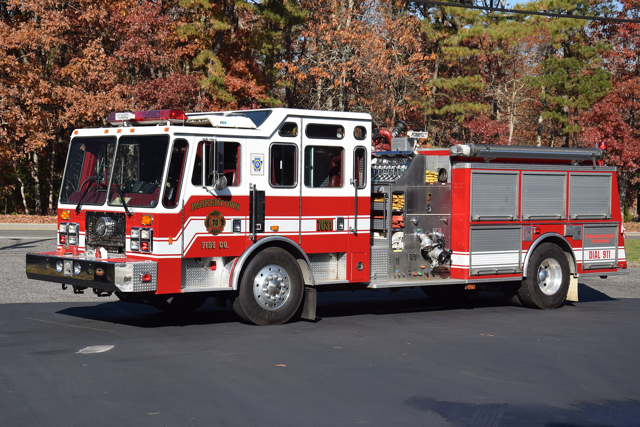 Parkertown Fire Company Engine 7031